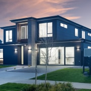 The two-level contemporary show home by Mike Greer