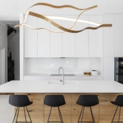 The clean-lines of the contemporary new white and