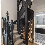 A fun wine cellar solution slots into the
