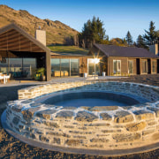 The house captures the constantly changing lake and
