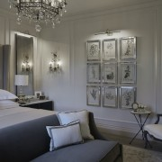 The master bedroom benefits from the presence of