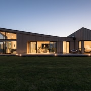 The house has been designed with differentiating angles