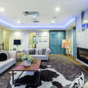 ​​​​​​​Lap of luxury – the first-floor living zone home, interior design, living room, real estate, Chancellor Construction, Sang Architectural Design, tracy  Guo,  Decor+