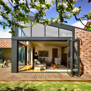 ​​​​​​​How do you keep your interior cool over architecture, estate, facade, home, house, property, residential, brick, bifold windows, Porter Architecture