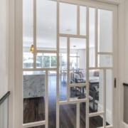 Modernising renovation creates open-plan living zone at rear door, floor, interior design, restored villa, Matt Brew Architect