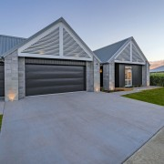 ​​​​​​​Landmark Homes often use popular Linea facings, and home, house, property, real estate, residential area, landmark homes, showhome, Coromandel, Linea cladding