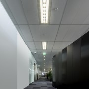 The Pierlite GenLed One Module was ideal for architecture, ceiling, daylighting, daytime, line, gray, black