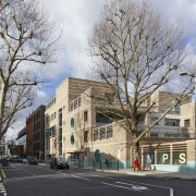 Street elevations for the new Marlborough Primary School apartment, architecture, building, city, condominium, daytime, downtown, facade, home, house, metropolitan area, mixed use, neighbourhood, plant, property, real estate, residential area, sky, street, suburb, town, tree, urban area, gray, black