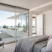 For the layout of the penthouses in the architecture,  glassdoor, home, apartment, interior design, bedroom, window, furnishings, Banham Architects