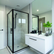 Nz3501 Gj Gardner 229122376 2 Pukenga Rd 212 architecture, bathroom, bathroom cabinet, cabinetry, glass, shower, home, house, interior design, plumbing fixtures, tap