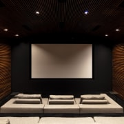 This home theatre was professionally designed and engineered architecture, home theatre, design, electronics, interior design, projection screen, home theatre, technology, SPFa