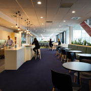 The staff cafe at the new Westpac head architecture, building, design, flooring, furniture, interior design, Staff cafetreria, table, Jasmax, Westpac