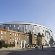 The new Tottenham Hotspur stadium transforms how stadia architecture, building, city, commercial building, facade, landmark, metropolitan area, mixed-use, teal