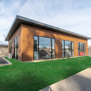 John McGlashan College's rumpus room is one of architecture, building, cottage, design, estate, facade, farmhouse, grass, home, house, interior design, land lot, lawn, property, real estate, residential area, roof, room, white