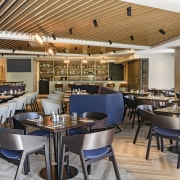 The Queen's Head Bar and Eatery at Four architecture, building, bar, furniture, interior design, Four Points Sheraton, Hotel, Russell Property Group