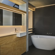 ​​​​​​​Strip lighting and LED concealed lighting offer a black