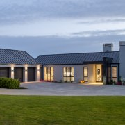 The garage pavilion, along with this home's other