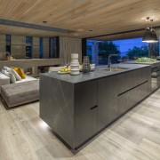 ​​​​​​​This kitchen was designed to tie in with