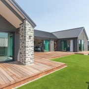 This GJ Gardner showhome's exterior is comprised of