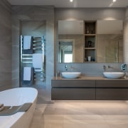 ​​​​​​​The main bathroom in this home by house