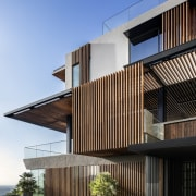 ​​​​​​​The exterior of this expansive new home features