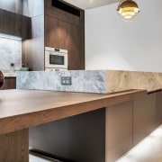​​​​​​​This kitchen, by designer Dean Welsh, includes a