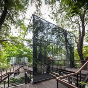 Naiipa 26 - architecture | nature reserve | architecture, nature reserve, outdoor structure, plant, tree, black