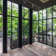 Naiipa 27 - architecture | estate | home architecture, estate, home, house, outdoor structure, porch, property, real estate, tree, window, black, green, gray