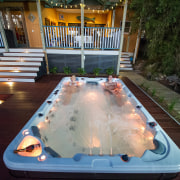 Oasis 064 - hot tub | jacuzzi | hot tub, jacuzzi, leisure, swimming pool, black