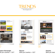 Trends Newsletter - Content packages for accessing a