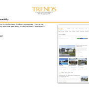 Topic or Category Sponsorship - Displays at the