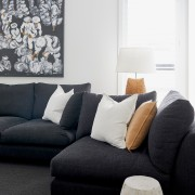 The living room furniture is Bauhaus, from Forma.
