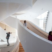 An atrium stands at the centre of The