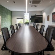 Even the boardroom has a user-friendly feel with