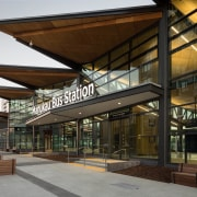 Public Architecture: Manukau Bus Station by Beca And architecture, condominium, mixed use, real estate, brown
