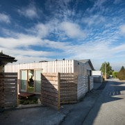 Architect in residence - architecture | building | architecture, building, cloud, cottage, facade, home, house, property, real estate, residential area, roof, shed, siding, sky, wood, black