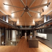 Roar Northcurlcurl House 40S architecture, ceiling, interior design, lobby, brown