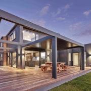 Open sesame – the semi-enclosed indoor-outdoor room features