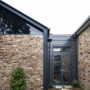 Recycled bricks – including from an outside toilet
