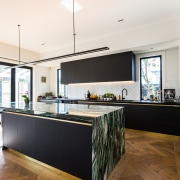 The owners wanted the new kitchen in the
