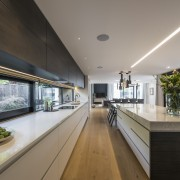 Kitchen by Eterno Design - Kitchen by Eterno architecture, daylighting, house, interior design, real estate, gray, black