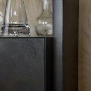 The Liquid Metal matt paint lacquer seen up