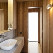 The specific brief for the ensuite was to