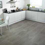 See more here floor, flooring, hardwood, kitchen, laminate flooring, tile, wood, wood flooring, gray, white
