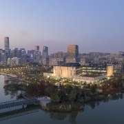 The 31,800m² Ningbo New Library is located 200