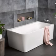 Contro Corner Bath - Contro Corner Bath - angle, bathroom, bathroom sink, bathtub, ceramic, floor, plumbing fixture, tap, gray