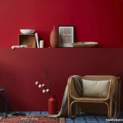 Screen Shot 2019 02 05 At 11 53 furniture, interior design, red, room, shelf, shelving, table, wall, red