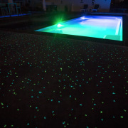 Ready, set, glow - floor | flooring | floor, flooring, green, light, lighting, technology, black
