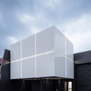 Small Project Architecture: Objectspace Gallery by RTA Studio architecture, building, commercial building, corporate headquarters, daylighting, daytime, facade, house, sky, gray