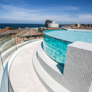 Soul Apartments 5 - architecture   azure   architecture, azure, building, design, hotel, house, property, real estate, roof, sky, swimming pool, vacation, white, gray, teal